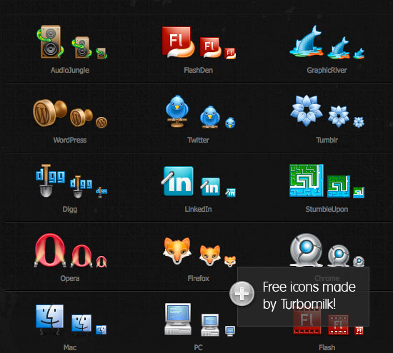 Free Web Icons