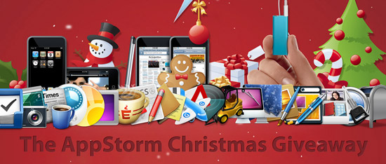 AppStorm Christmas Giveaway